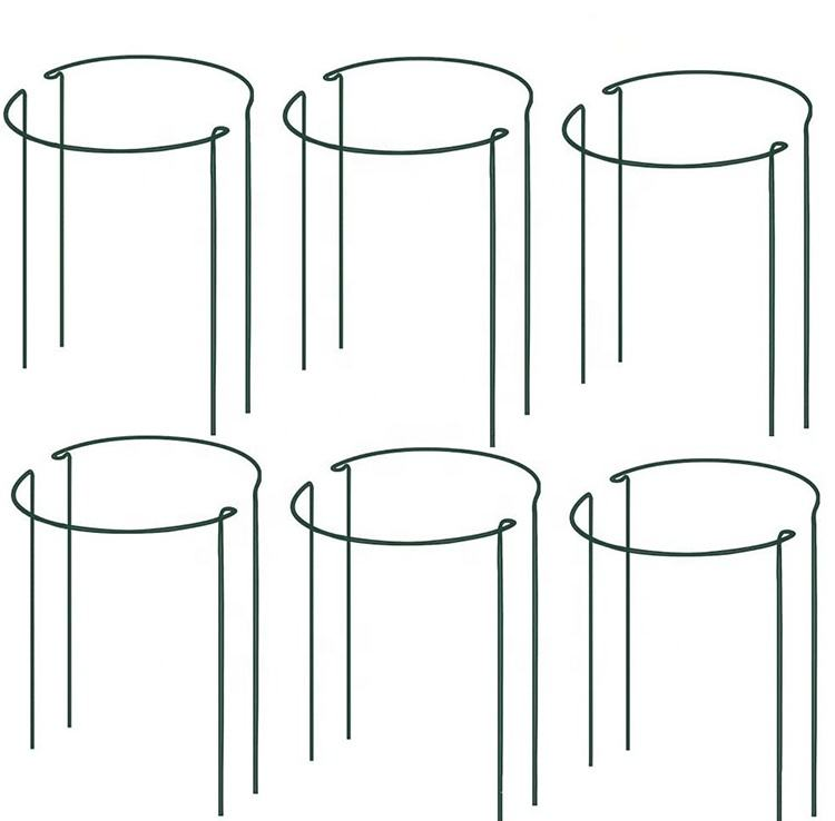 2 PC Metal Plant Stakes And Supports Climbing Bow Plant Supports for Flower, Rose,Tomatoes