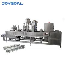Fully automatic form curd hot filling sealing machine