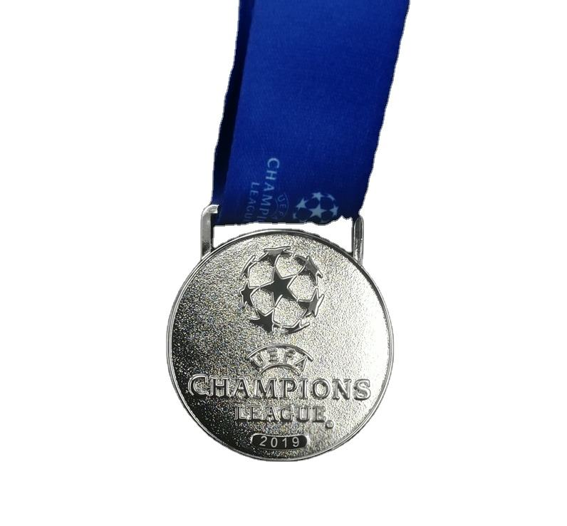 custom winner premier medals cham pions polish gold metal Plating cheap sports league medals trophy make metal medal 2.5 inch