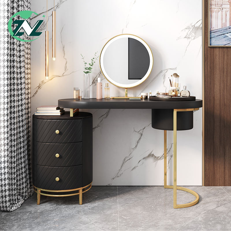 Makeup Dressing Table With Mirror Wooden Style Modern Furniture Bedroom Design Vanity Dressers