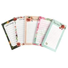 Free Samples Wholesale Customized Notes Pad Writing Tablets Memo Pad to do list notepad