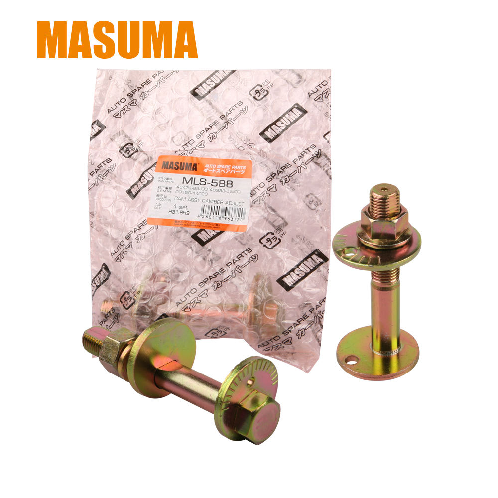 Masuma MLS-588 New Design Hot Selling Amber Camber Adjusting Eccentric Roller drain Bolt