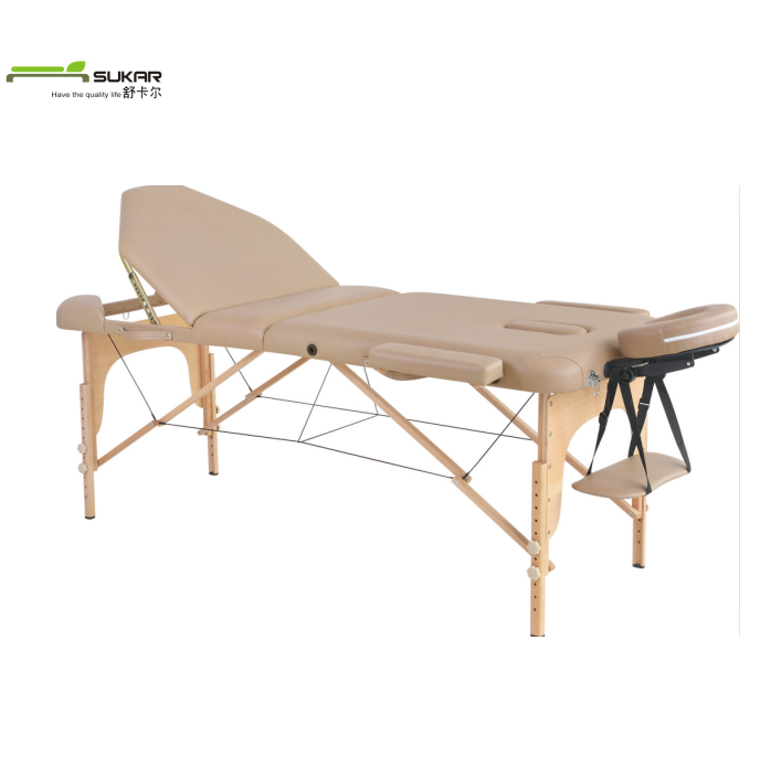 Folding Wood Full body Beauty Thai Milking Massage Table De Massage Bed Amazon Table Portable 2 Mattress Bedding Korea Spa Bed