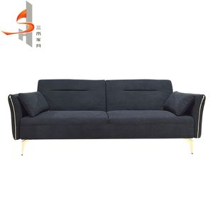 High quality luxury modern living room furniture folding sofa cum bed