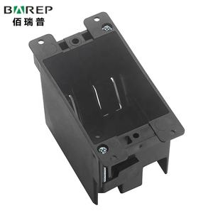 1 gang Outlet switch Box enclosures usa socket plastic junction box ul listed