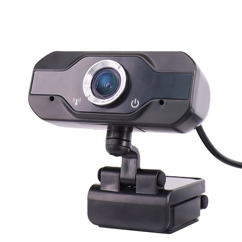 New 1080P HD Black High Resolution Autofocus Plug and Play Mini USB PC Camera Webcam With Microphone