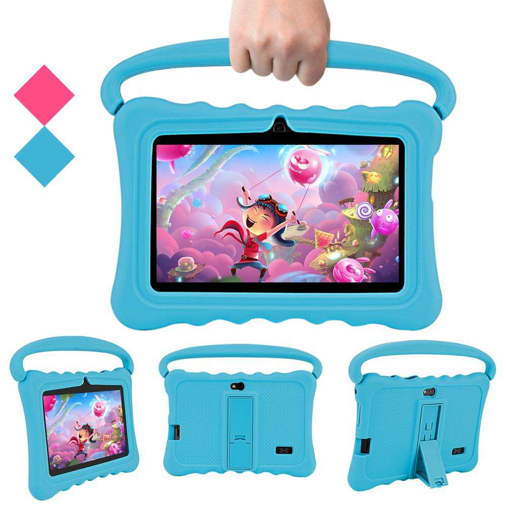 Wholesale Price Fall Protection Soft Eva Handle Grip Silicone Case Cover For Dragon Touch Y88 7 inch Kids Tablet