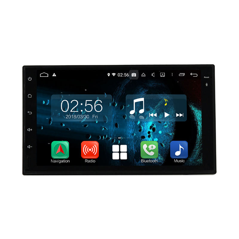 Hot selling Android Auto Stereo Car stereo with 8core GPS For universal model full touch with HD Screen/GPS/Mirror Link/DVR/TPMS