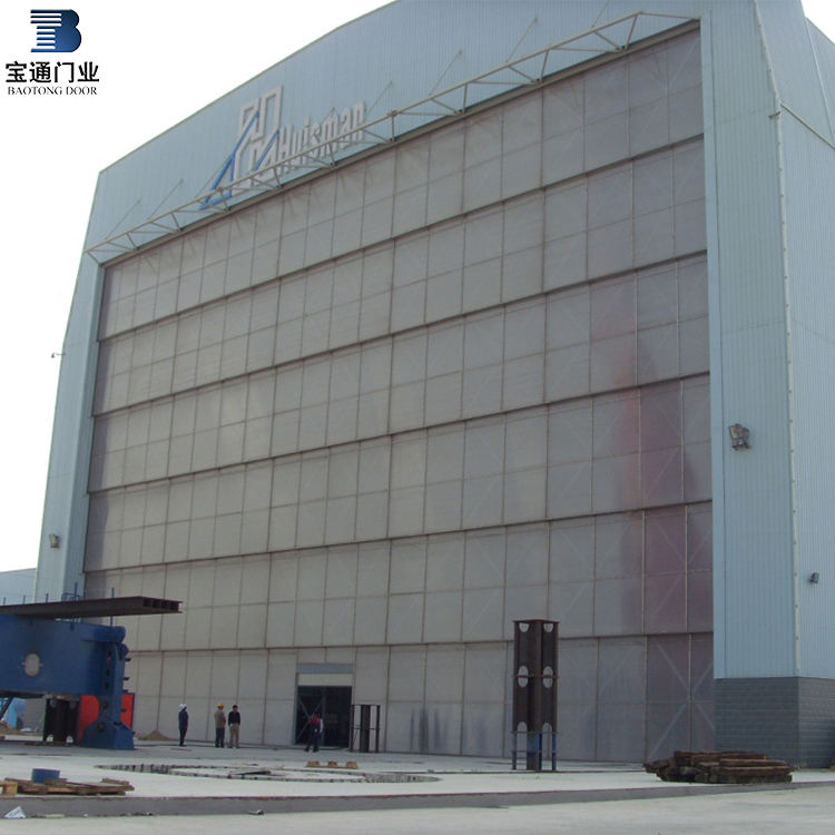 lifting door/multiple section lifting door/iron doors stainless steel