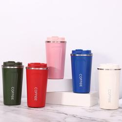Hot sale Stainless Steel Double Wall Coffee tumbler  Custom Logo Insulated Travel Coffee Cups with Lid