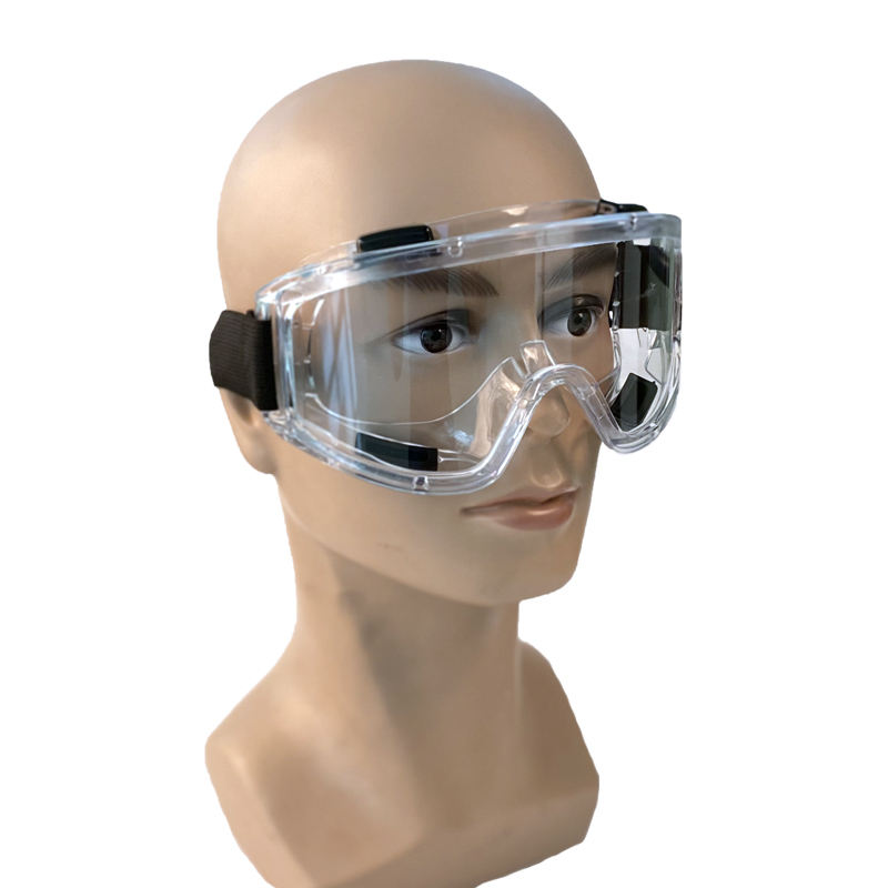 Safety Glasses Goggles Protective Glasses PVC Frames And PC Lens CE EN166 Safety Goggles