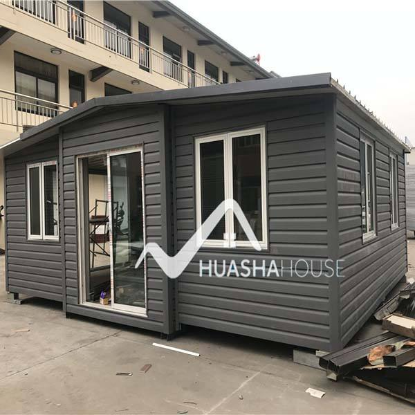Huasha movable living กล่อง house แบบพกพา shop อาคารคอนเทนเนอร์ housing unit