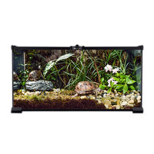 Assembled Glass Square Gecko Cage Pet Terrarium for Reptile
