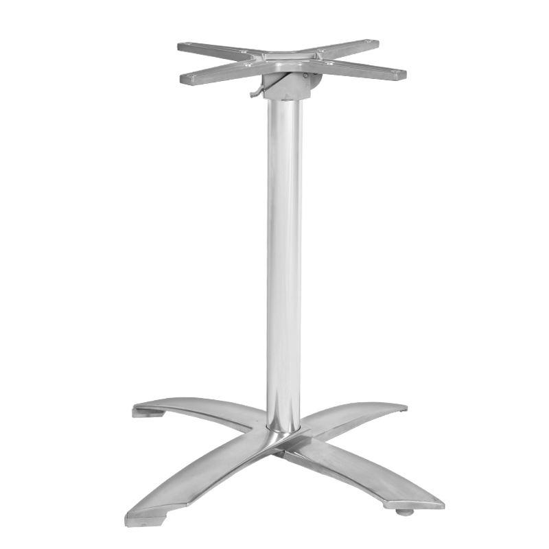 Hot selling dining aluminum folding table legs for outdoor furniture