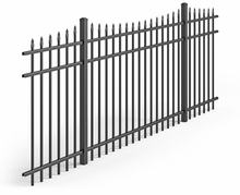 Cheap Steel Wire Aluminum Used Wrought Iron Gate Garden Fence Panels For Sale