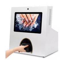 Beauty equipment 13.3 inch capacitive touch screen automated digital nail art machine with printer