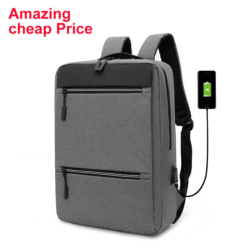 Wholesale travel backpack anti-theft custom logo men and women business usb laptop backpack
