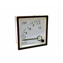 Analog Single Phase Cos Power Factor Meter