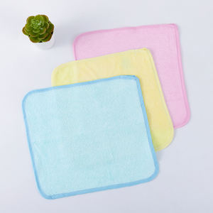 Organic Bamboo Cotton Baby Towel Soft Baby Wash Clothes