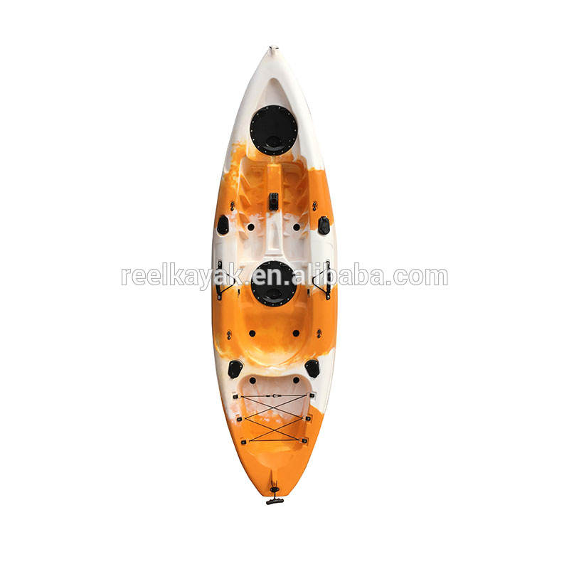 High quality modern rowing model race boat plastic kayak