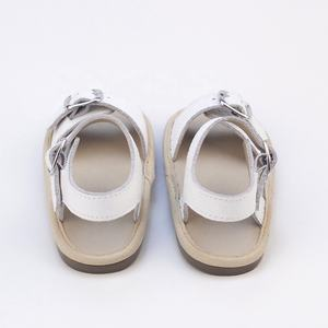New Style Hard Sole Children Summer Shoes Leather Kids Sandals