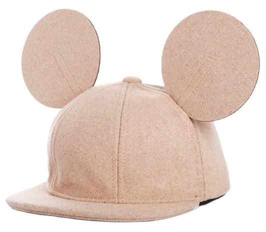 пустой плоский детей с Микки-Маусом возраст форма мыши ушками на капюшоне, оптовая продажа Разноцветные детские snapback