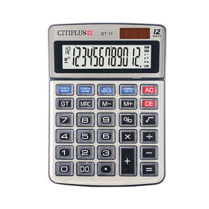 CITIPLUS GT-11 112 steps 12-digits check correct calculator calculator price