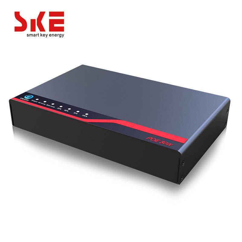 New Design POE30W SKE DC MIni UPS 5V 9v 12v 15v 24v For Wifi Router