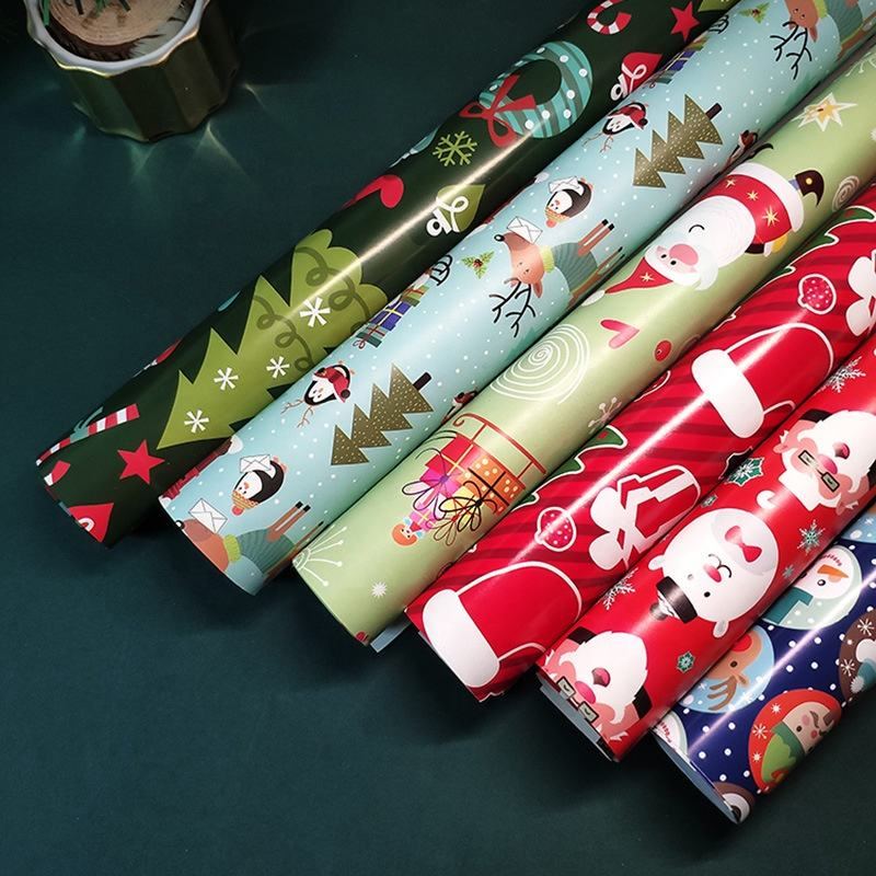 Wholesale Pattern Gift Wrapping Paper Roll Art Paper