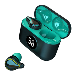 Wireless charging Bluetooth 5.0 stable connection high quality wireless private label earbuds charging case earbuds