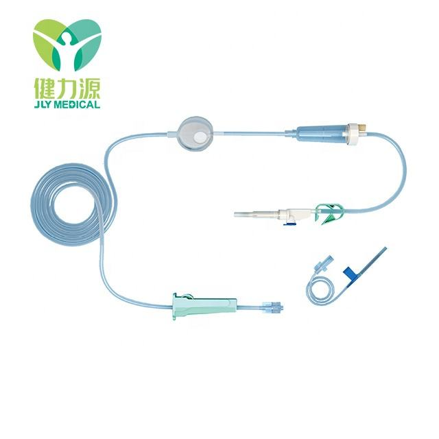 Medical disposable precision intravenous infusion set