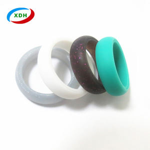 Active life wedding ring popular high quality women silicone wedding ring
