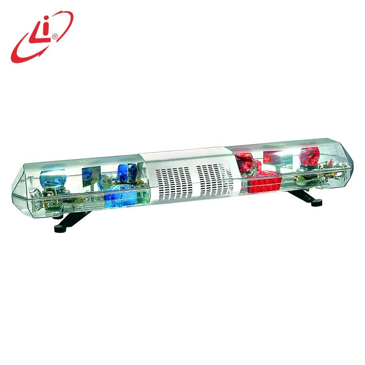 LIYI Cheap Fancy 180W Police Rotating Flashing Halogen Warning Light Bar