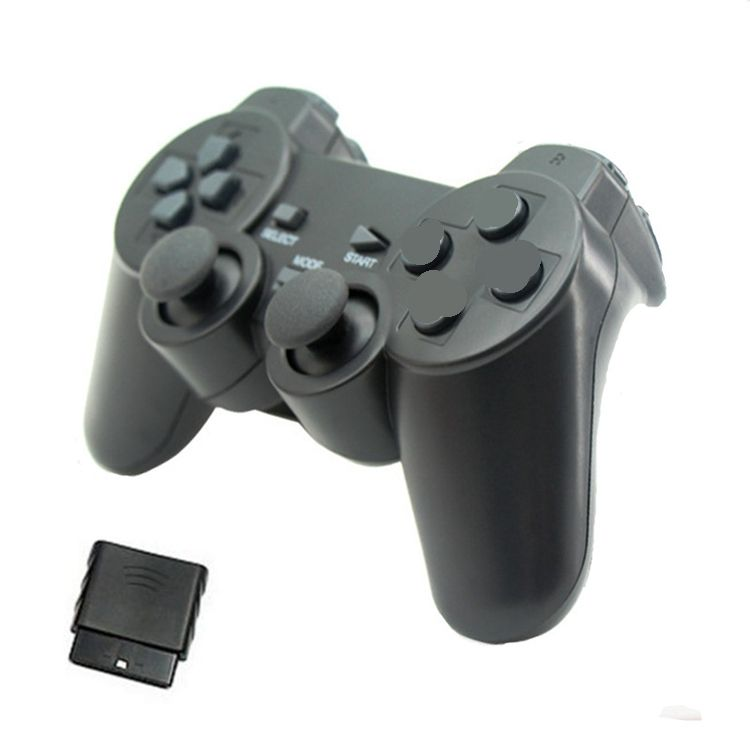 3 in 1 Computer USB 2.4g Wireless Double Vibration Joystick Gaming Pad Game Controller For PC PS2 PS3 Game Controller