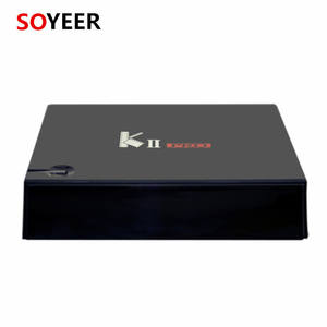 soyeer S905D Hybrid KII pro Satellite Receiver Android 7.1 tv box DVB T2 S2 C Set TV Box