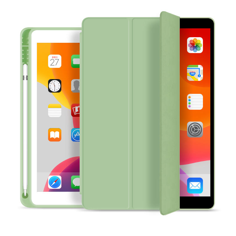 For iPad Case 10.2 Inch Pencil Holder Cover Case for 2020 iPad Case 8th Generation For iPad 102 Smart Tablet Casing