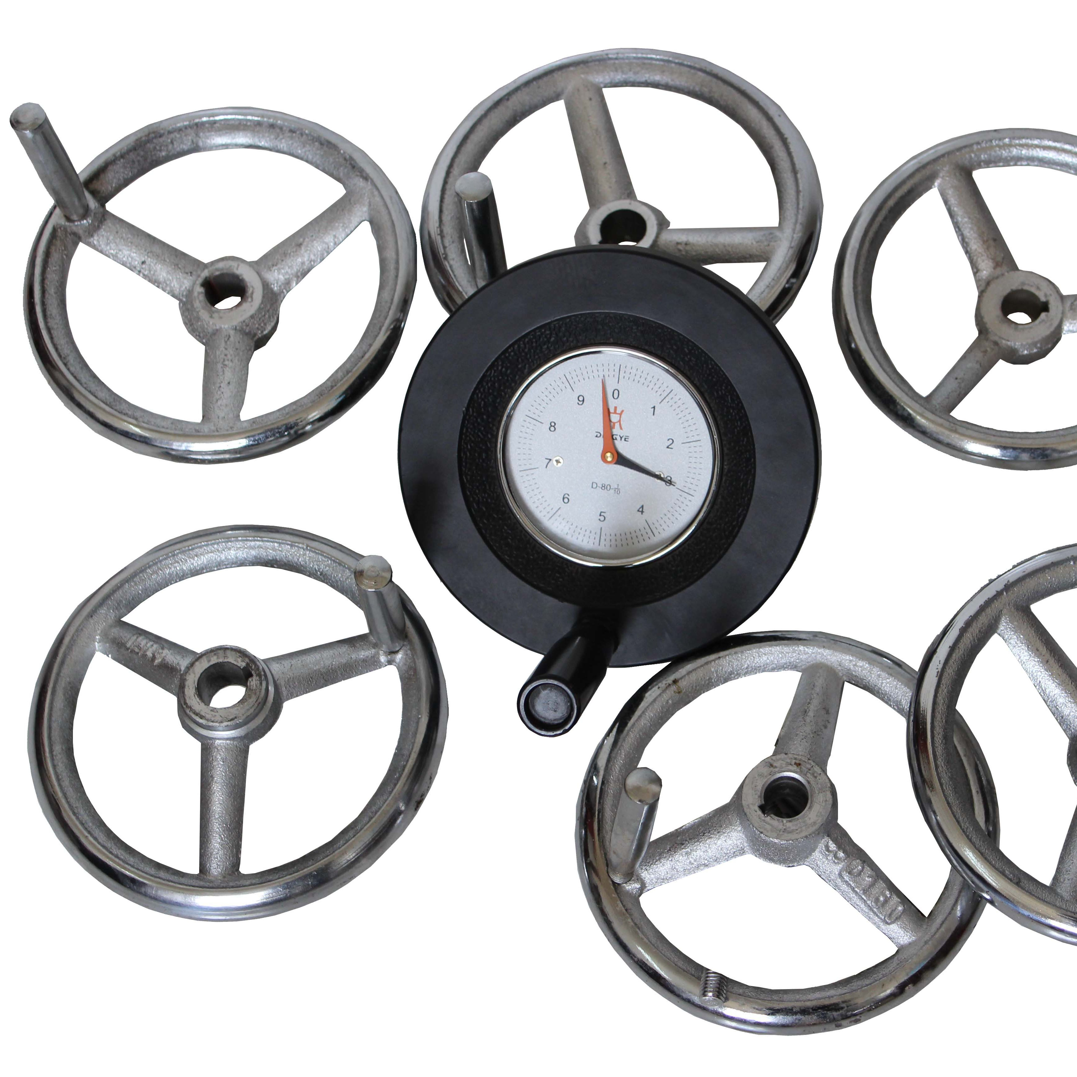 Die casting machine accessories double digital handwheel 16*160 1/12E Lijin adjustment handwheel