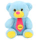 2020 Free sample Wholesale customized colorful bear toy with scarf plush teddy bear