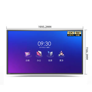 new concept touch screen smart tv writing led digital electronic blackboard