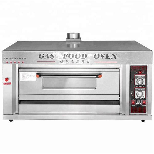Yoslon YMQ-20 Gas Bakery Pizza Oven Bread Baking Machine Commercial Deck Oven