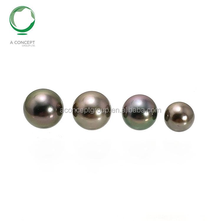 8-11MM Nice Colour Only Very Light Spots Tahitian Black Pearl Loose