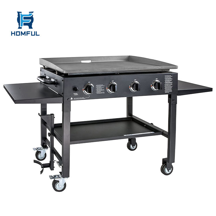 Homful Tuin Barbecue Grill Draagbare Gas Bbq Grills Ijzer Outdoor Natuurlijke Gas Grill