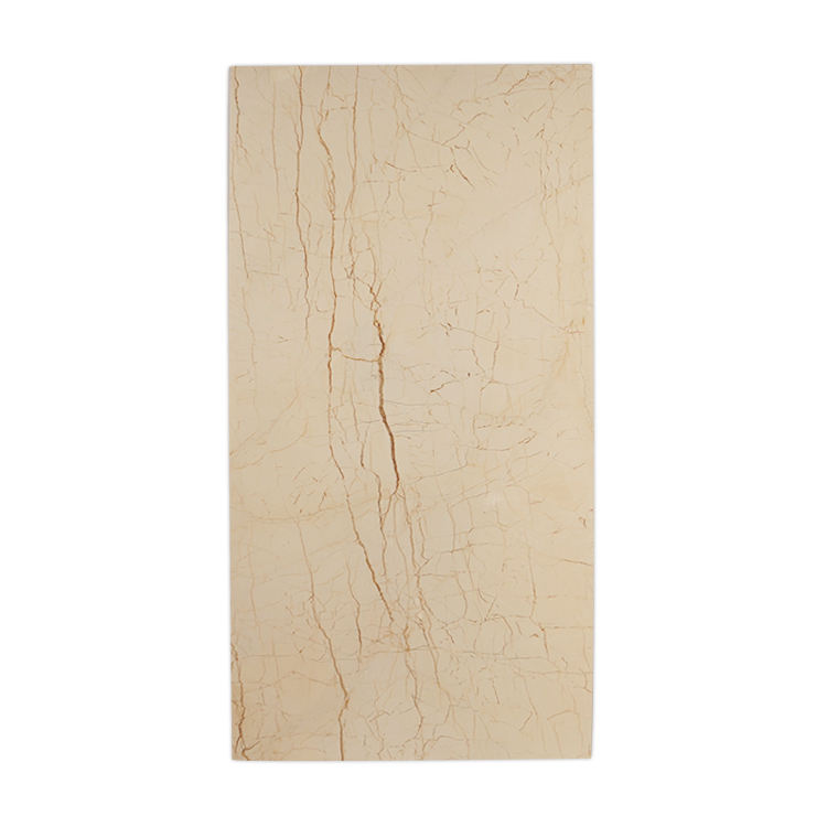 Natural marble flooring slab, cream block marble stone,love home stone panel