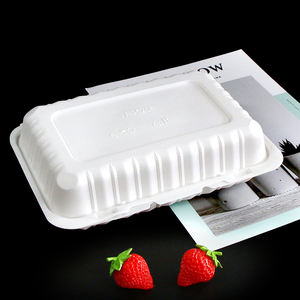 2020 Hot Sell Design Disposable Biodegradable Clamshell Food Container