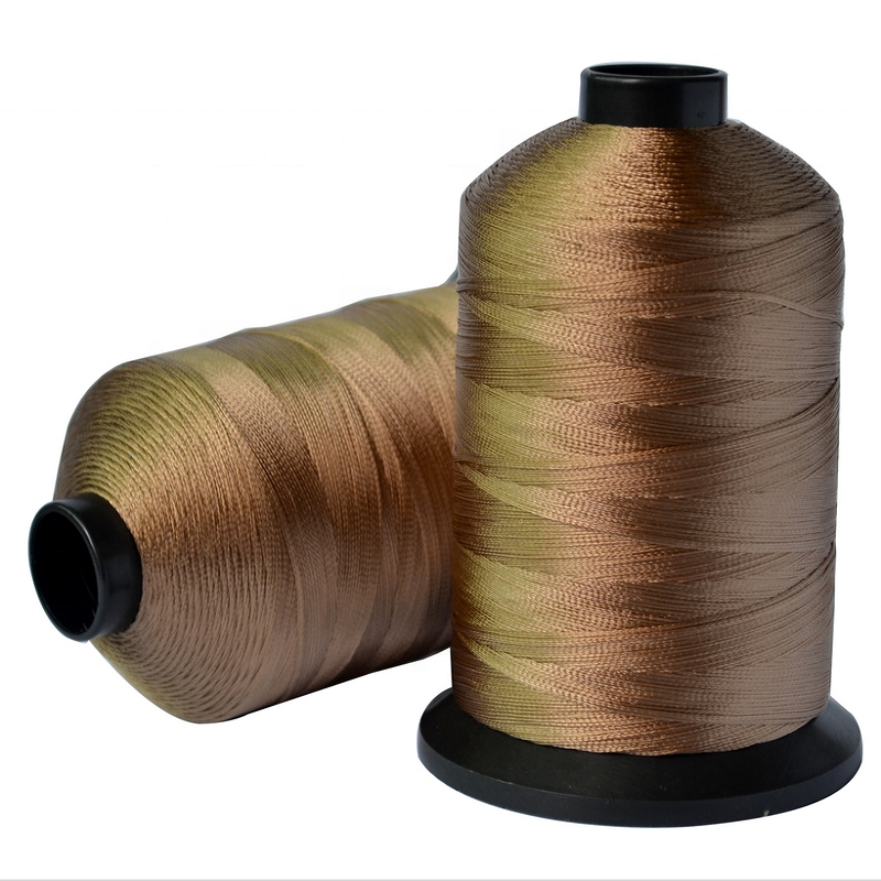 High quality 100% polyester weaving thread