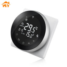 Carbon heating film wifi touch-screen thermostat for smart home system