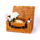 Factory Direct Online Shopping Handicraft Gift Basket Empty Storage Wicker Picnic Basket