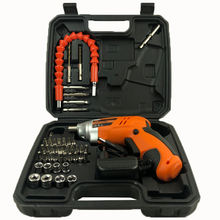 46pcs Professional Mechanic Cordless Electric Screwdriver Tool Set