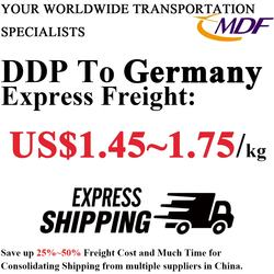 DDP FBA Shipping freight with tax and duty to Germany by railway train Door to door service from China
