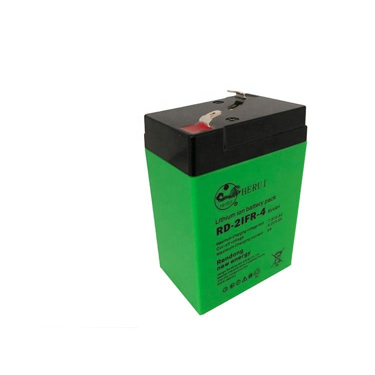 Rechargeable Li-ion Battery 7.4v 4000mAh 6V 4Ah Battery Pack For Emergency Lighting